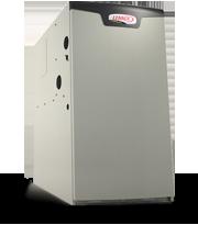 New Lennox furnace unit before installation